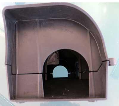 rattentunnel abschlie bar aus kunststoff optimal f r die. Black Bedroom Furniture Sets. Home Design Ideas